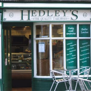 Hedley's Sandwich Bar And Tea Room Westgate Street Gloucester Four Gates