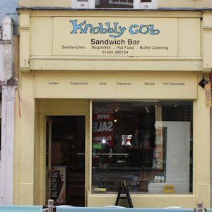Knobbly Cob Westgate Street Gloucester Four Gates