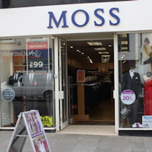 Moss Bros Westgate Street Gloucester Four Gates