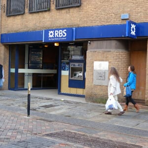 The Royal Bank Of Scotland Westgate Street Four Gates Gloucester