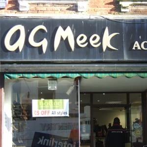 a g meek westgate Street Gloucester Four Gates