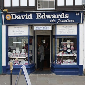 David Edwards Jewellers Westgate Street Gloucester Four Gates