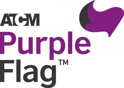 Waving the purple flag for safe nights