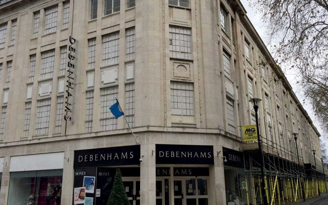 Purchase of Debenhams building puts University of Gloucestershire growth plans at heart of city regeneration
