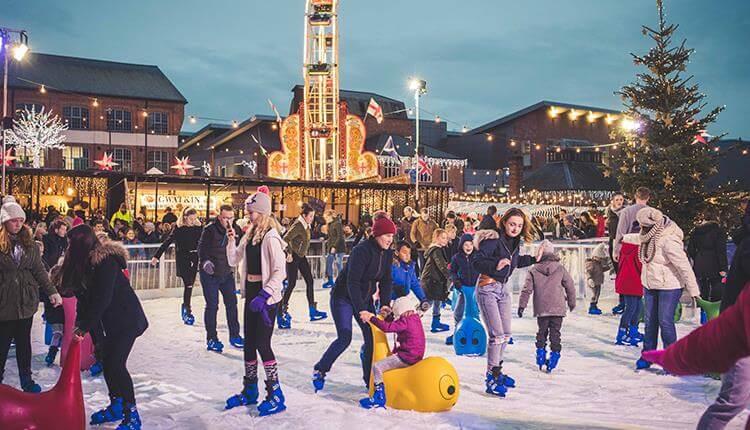 Magical Christmas Ice Rink