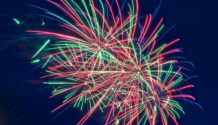 Gloucester fireworks